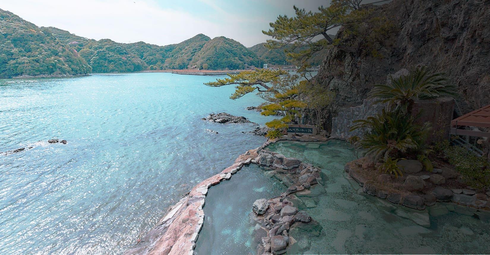 絶景天然温泉の画像